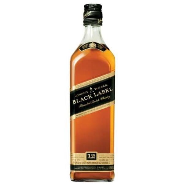 12   Johnnie Walker Black Label 12 Year Old