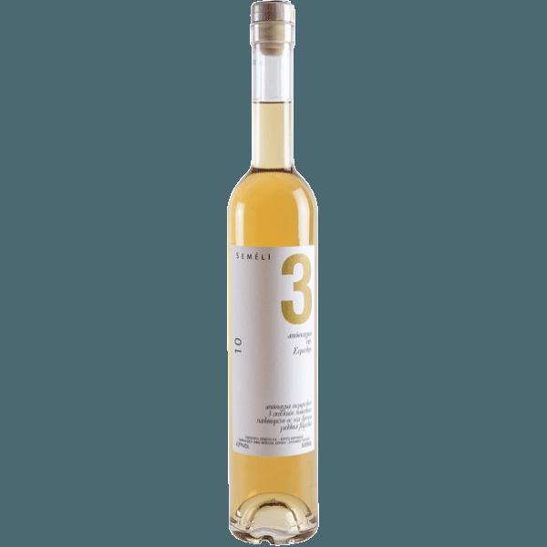 "aged distillate semeli   Απόσταγμα της Σέμελης ""3"""