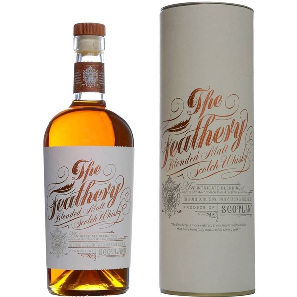 feathery 1 | Feathery Flasche Blended Malt