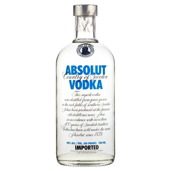 absolut vodka 70cl 1 | Absolut Vodka