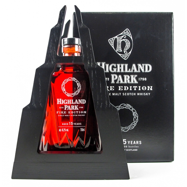 whisky highland park fire edition 15 years   Whisky Highland Park Fire Edition 15 years